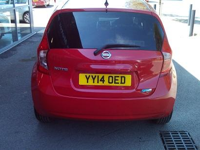 Nissan Note Tekna ECO SORRY SOLD